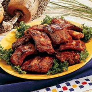 Honey-Garlic Pork Ribs