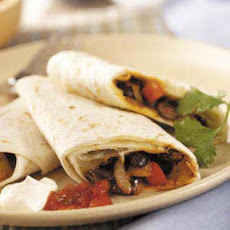 Black Bean Burritos Recipe