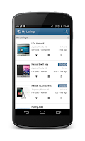 Screenshot of ListNChat