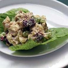 Fall Fruit and Chicken Salad