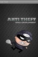 Screenshot of Anti theft