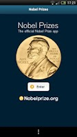 Screenshot of Nobel Prizes