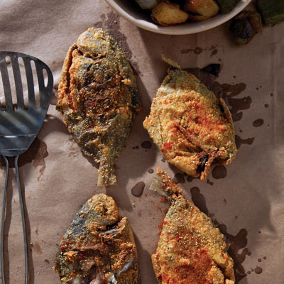 Creole-Style Fried Fish