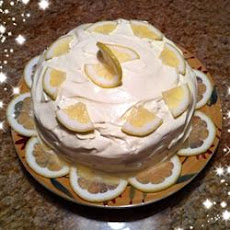 Creamy Lemon Cake