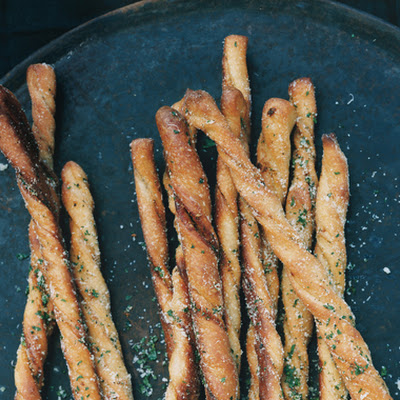 Garlic Herb Bread Twists