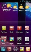 Screenshot of Imagine HD Apex/Nova Theme