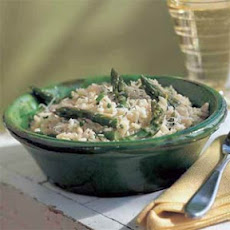 Creamy Rice with Asparagus