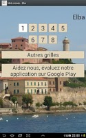 Screenshot of French Crosswords Free