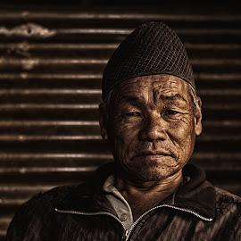 Wisdom by D K - People Portraits of Men ( old, man, portrait )