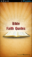 Screenshot of Bible Faith Quotes