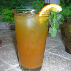 Agave-Sweetened Orange Tea