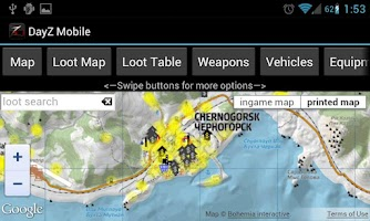 Screenshot of DayZ Mobile