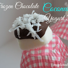Frozen Chocolate Coconut Yogurt Bites