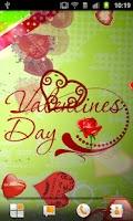Screenshot of Valentines Day Live Wallpaper
