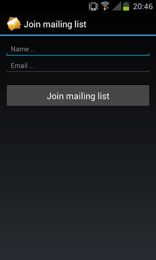 玩免費生產應用APP|下載Mailing List app不用錢|硬是要APP