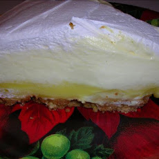 Super Easy Triple Layer Lemon Pie