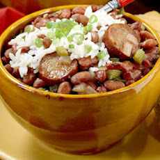 Cajun Sausage and Red Beans