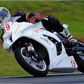 No 19 by Johann Perie - Sports & Fitness Motorsports ( bike, racing )