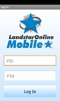 Screenshot of LandstarOnline Mobile