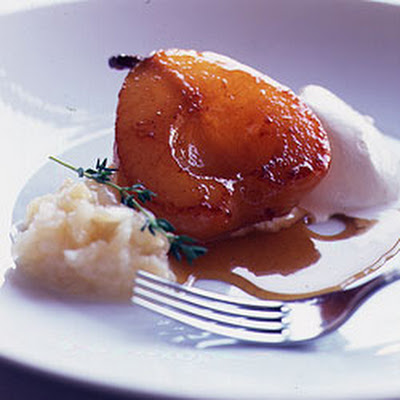 Chestnut Honey Pears