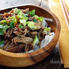 Crock Pot Asian Pork with Mushrooms