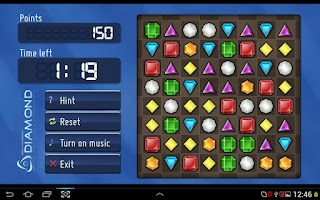 Screenshot of Diamond Twister