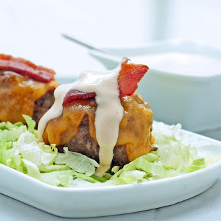 Bacon Cheeseburger Meatball Recipe (Low Carb and Gluten Free)