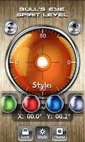 Screenshot of Bull's Eye Level