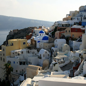 Santorini by Bica Razvan - City,  Street & Park  Historic Districts ( old district, greece, streets, oia, santorini, colorful, mood factory, vibrant, happiness, January, moods, emotions, inspiration, relax, tranquil, relaxing, tranquility,  )