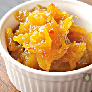 Spicy Caribbean Pineapple or Mango Chutney