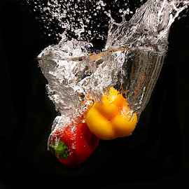 Splash #9 by Rakesh Syal - Food & Drink Fruits & Vegetables