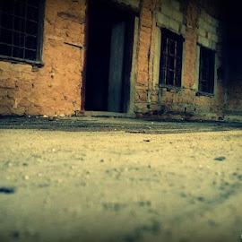 by Katia Magl - City,  Street & Park  Neighborhoods ( doors, scary, houses, floor, window, door, windows, house, light, city, abandoned,  )