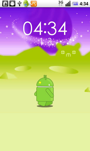 walking droid壁紙