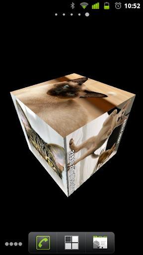 Slideshow Cube Wallpaper Lite