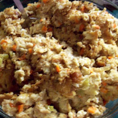 Moist Bread Dressing or Stuffing