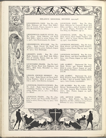 Ireland's Memorial Records
