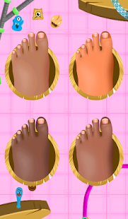 Feet Hospital Operating Games - screenshot
