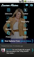 Screenshot of Lauren Alaina - Official
