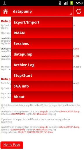 【免費生產應用App】Oracle DBA help-APP點子