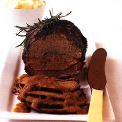 Beef in Barolo with Parmesan Mashed Potatoes