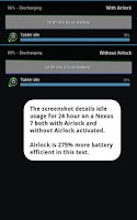 Screenshot of Airlock - Battery Saver Trial