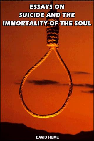 Essays On Suicide And The Immo