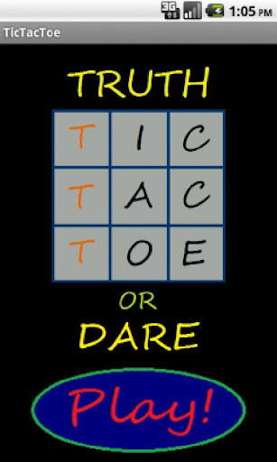 TicTacToe - Truth or Dare