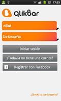 Screenshot of qlikBar