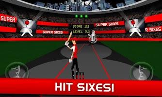 Screenshot of Stick Cricket Super Sixes