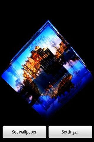 三維水城堡