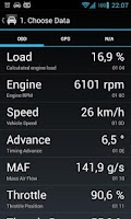 Screenshot of OBD Dashboard (Free)