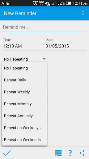 Simplest Reminder Pro - screenshot