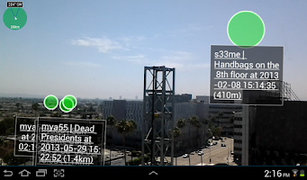 Screenshot of 1 Widespread Augmented Reality