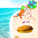 Beach!Donut Boy and Girl LW icon